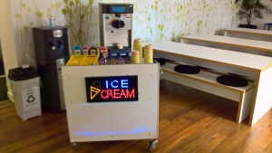 LED Ice-cream bar hire