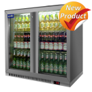 Prodis DBQ220SVH Double Silver Hinged Bottle Cooler